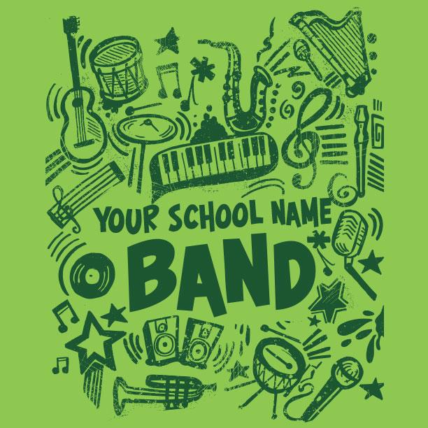 We do band.
