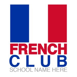 French Club Flag