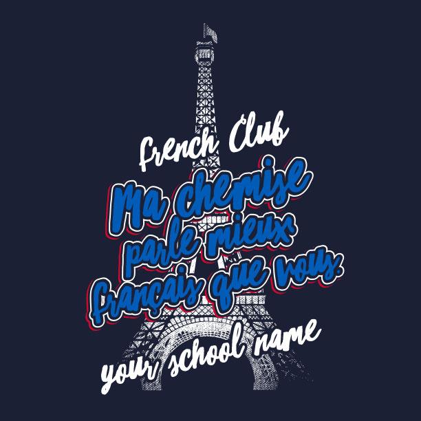 My Shirt Speaks French