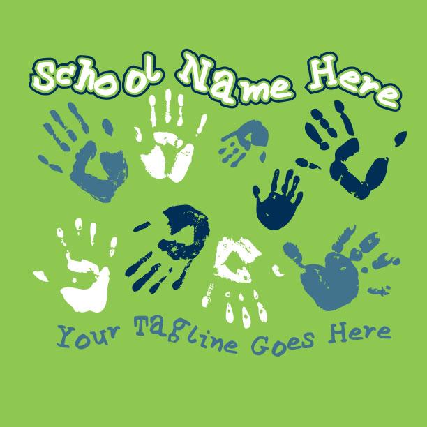 School Handprints